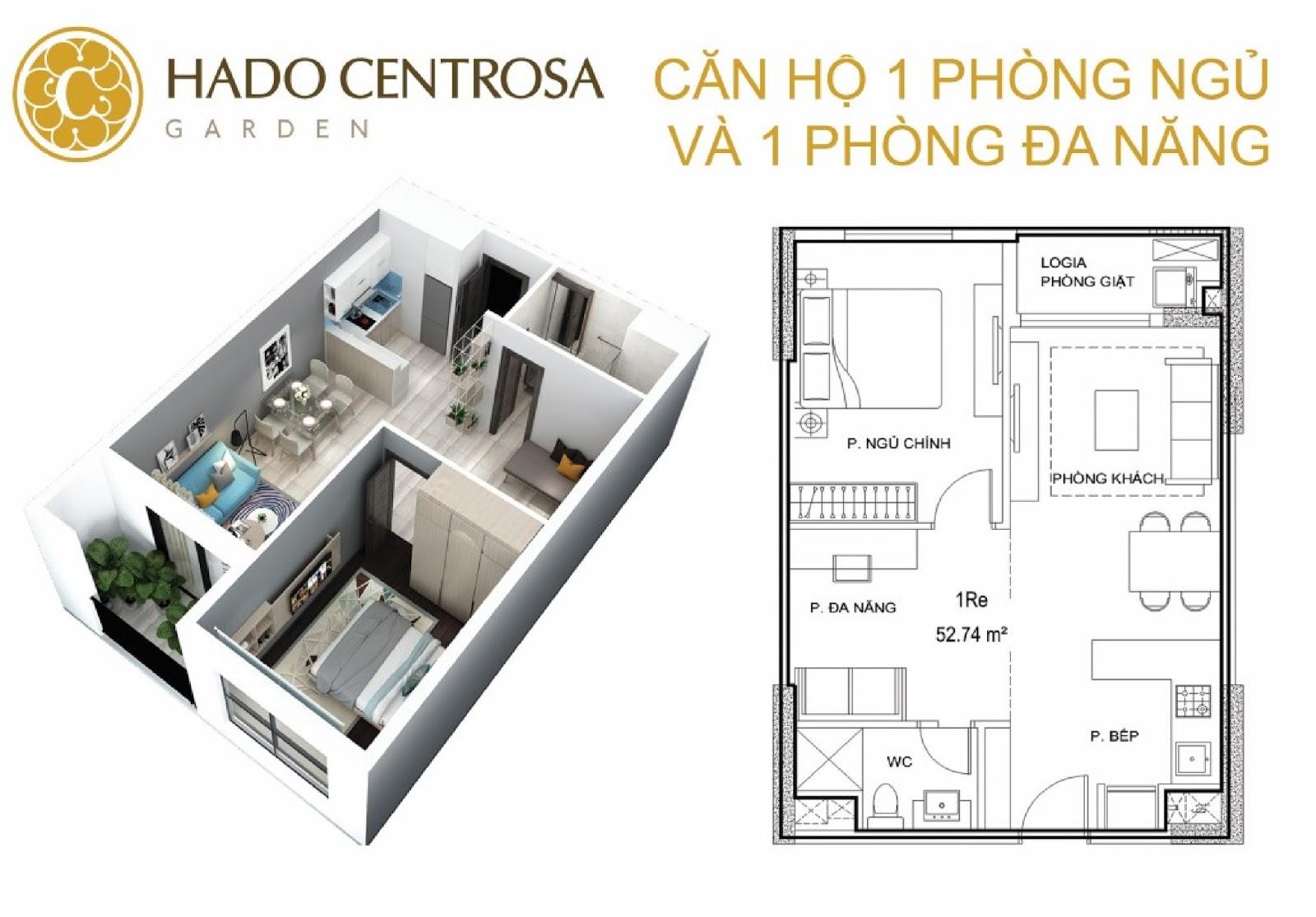 nhà mẫu căn hộ hà đô centrosa garden quận 10