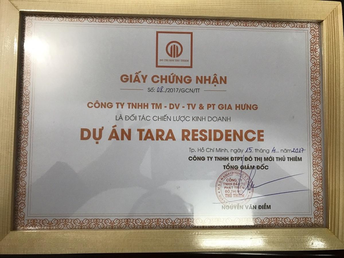 Gia Hưng Land và Tara Residence