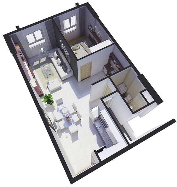 mặt bằng dự án tara residence