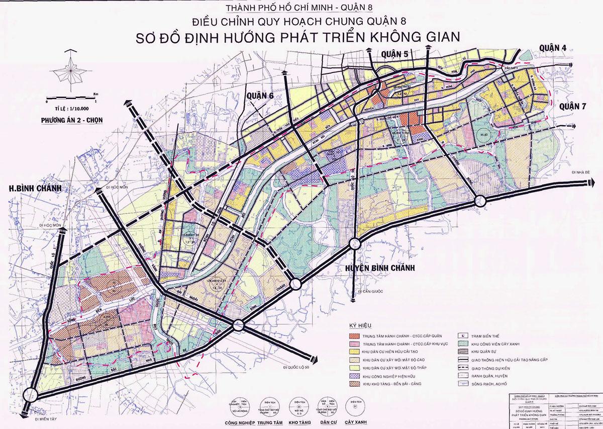 tiềm năng của quận 8 chung cư song ngọc