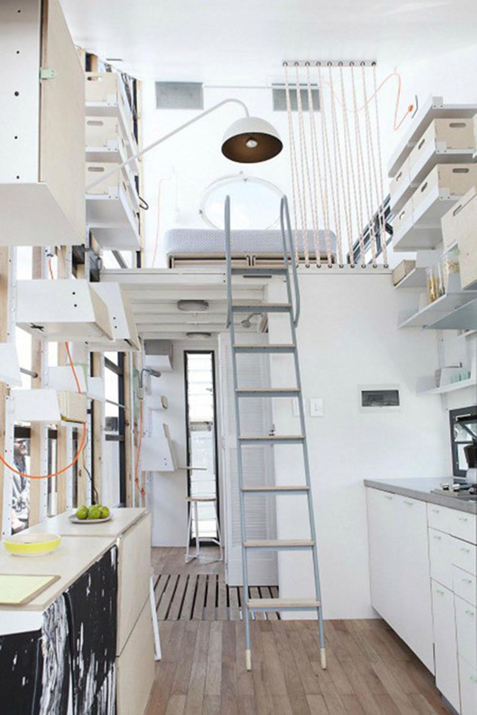 Biến phòng trọ 20 m2 thành căn hộ chung cư 5 sao