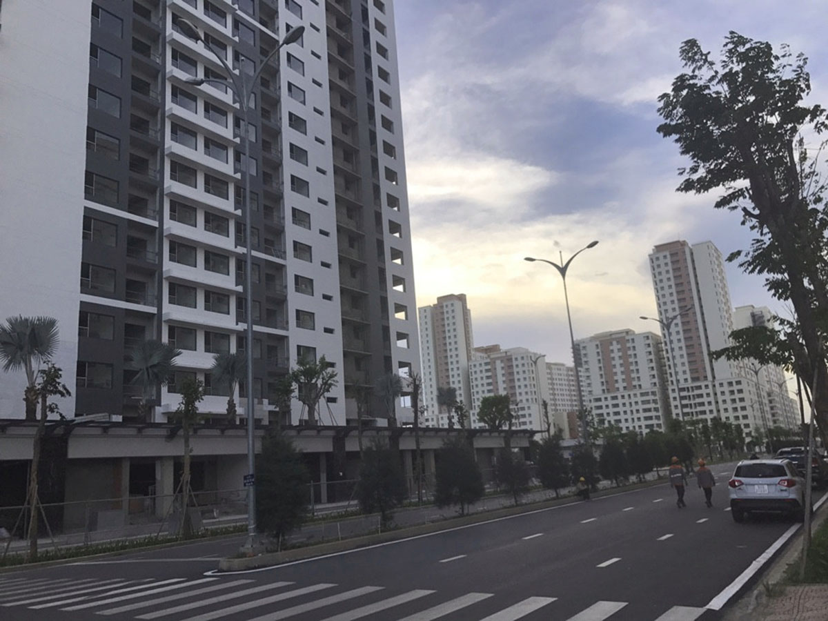 tiến độ xây dựng căn hộ thuận việt newcity