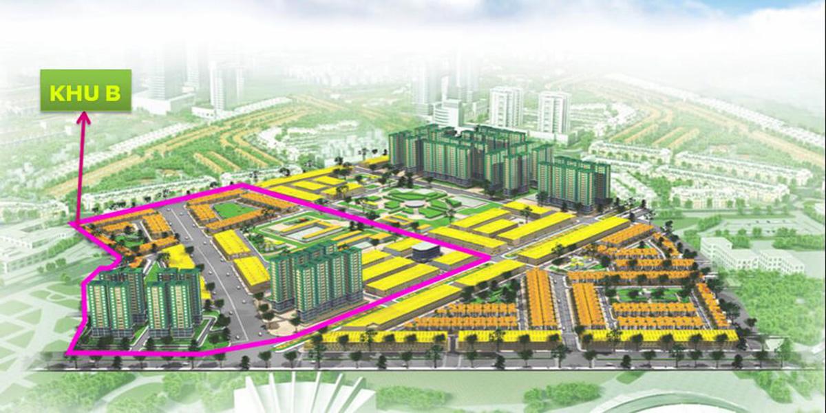 Mặt bằng dự án nhà phố Khang Điền tại Huyện Bình Chánh