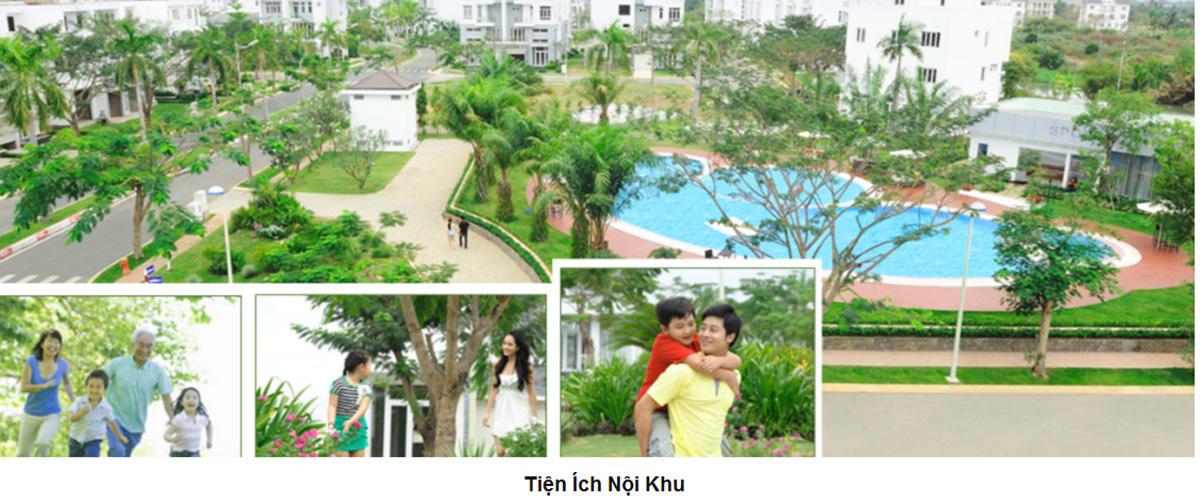 Tiện ích nội khu tại khu biệt thự và nhà phố Bình Chánh Khang Điền