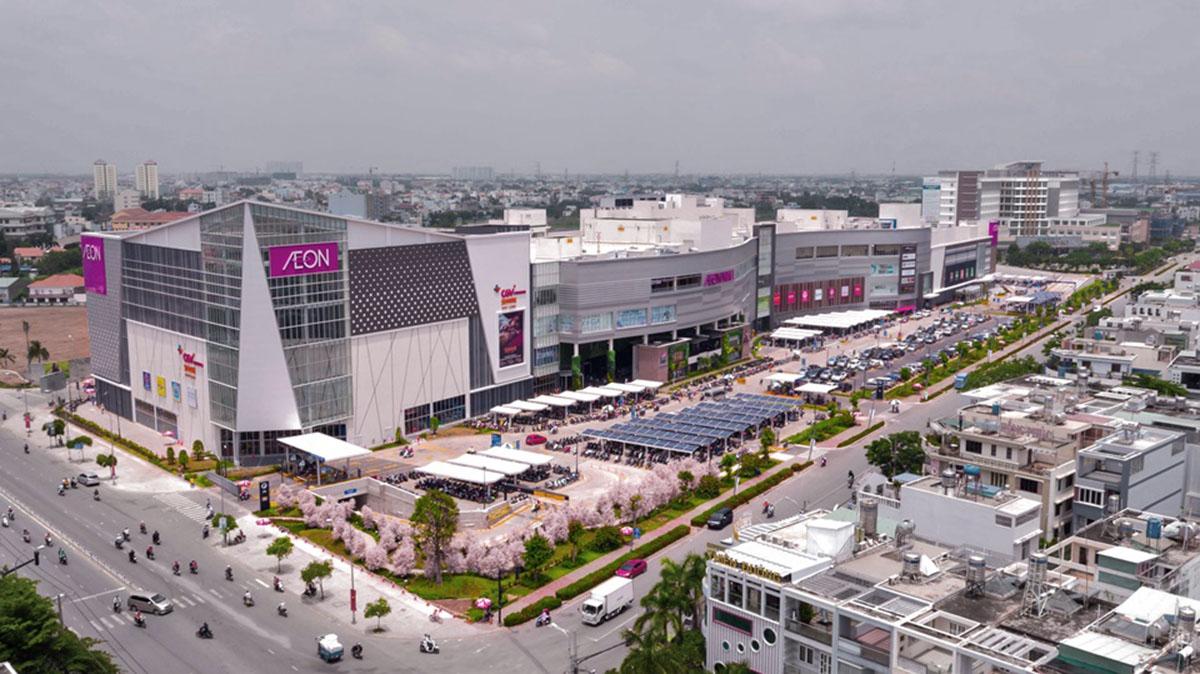 AEO Mall Bình Tân, đối diện dự án