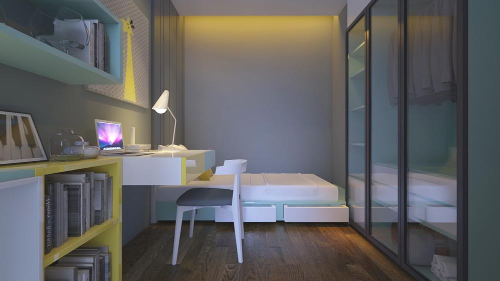 phòng ngủ mizuki nam long