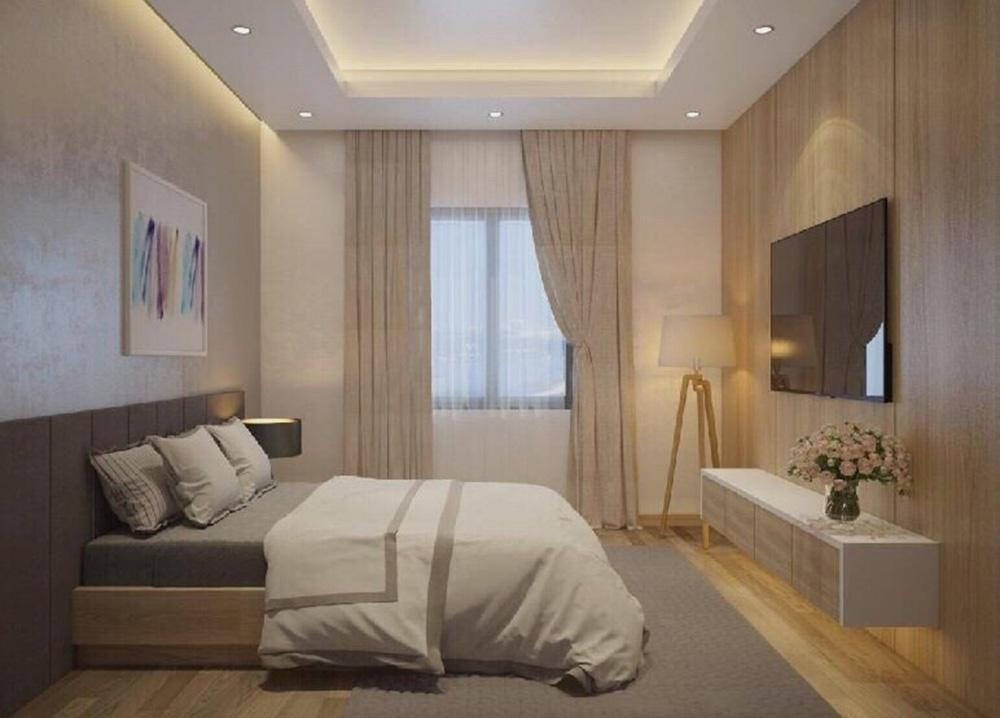 phòng ngủ tại CTL Tham Lương