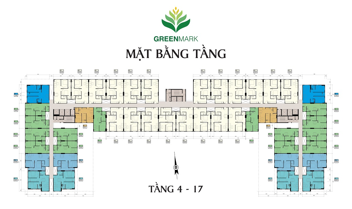 mat bang green mark